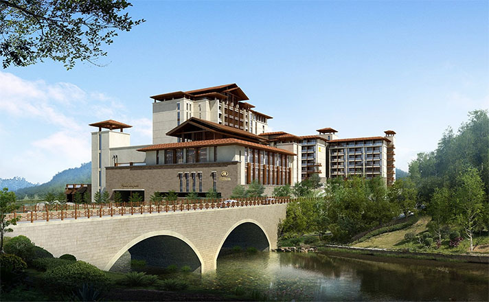 Hilton adds idyllic hot spring retreat to Chinese resort portfolio